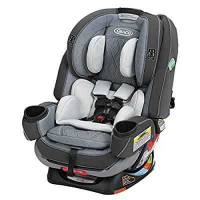 Graco 4Ever Extend2Fit Platinum 4-in-1 Car Seat, Hayden