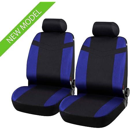 Colore Nero Blu 2010-in Poi rmg-distribuzione 1819 Coprisedili per Alfa Romeo Giulietta compatibili con Modelli
