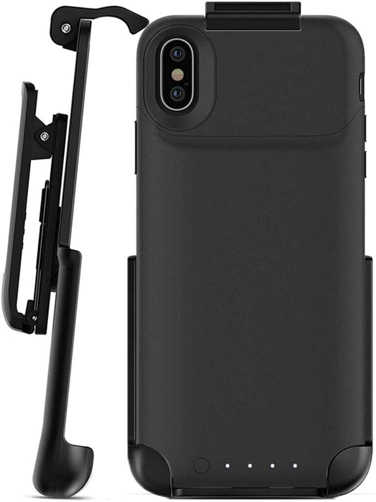 Encased Belt Clip Holster - Compatible with Mophie Juice Pack Air - iPhone X (Case is Not Included)