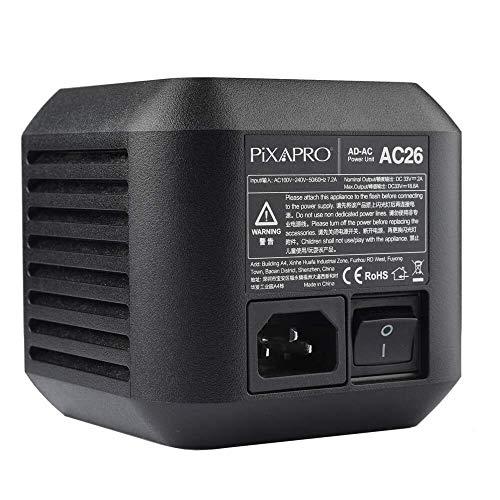 CITI600 Pro Adaptador De Corriente AC Fotografía Flash Estroboscópica Iluminación Unidad Principal Accionado Interno Ventilador de Refrigeración Ligero Portátil Godox AD600 Pro