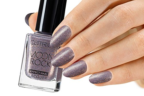 Catrice Cosmetics Moon Rock Effect Nail Lacquer Nagellack Nr. 06 Magical Bluelight, 11 ml, 0.37 fl.oz.
