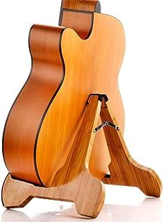 ZHXY Soporte de Guitarra,Soporte de Guitarra Tipo A de bambú Accesorios Soporte de Guitarra de Madera Soporte de Instrumento Soporte de Guitarra Plegable portátil para Guitarra acústica clásica