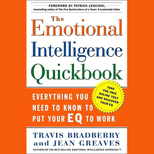 The Emotional Intelligence Quick Book audiobook cover art