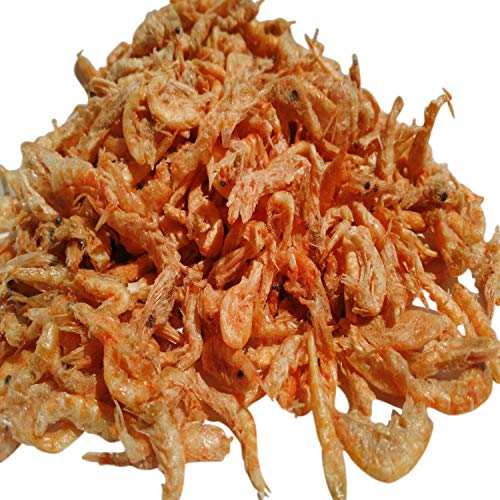 Aquatic Foods Inc. Krill-Freeze Dried Ocean Krill for Tropicals, Marines, Cichlids, Koi, Turtles - 1-lb - 450g