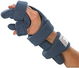 Stroke Hand Brace: SoftPro Functional Resting Hand Splint, Right, Medium