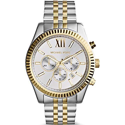Relógio Michael Kors Feminino Ref: Mk8344/1ki Cronógrafo Lexington