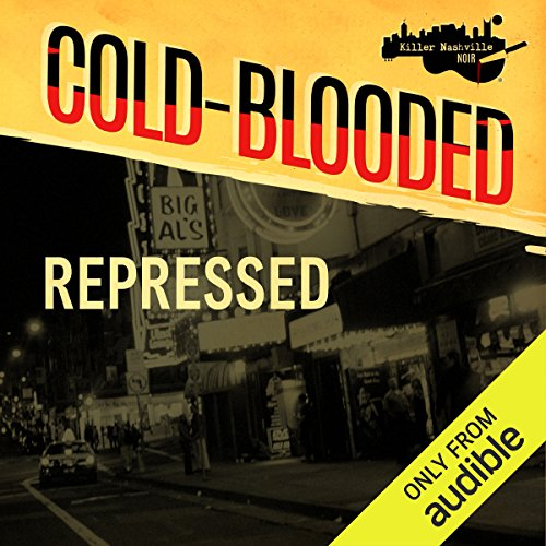 Repressed audiobook cover art