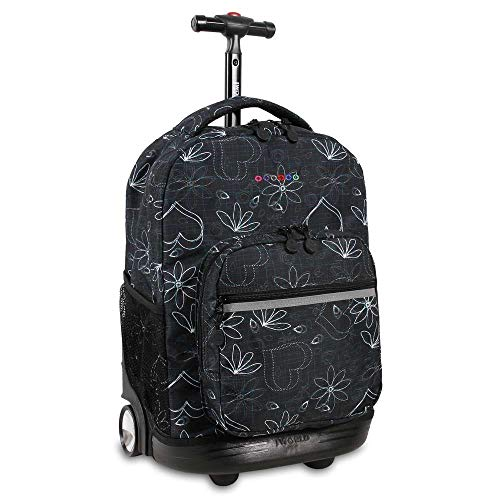 J World New York Sunrise Backpack, Love Black
