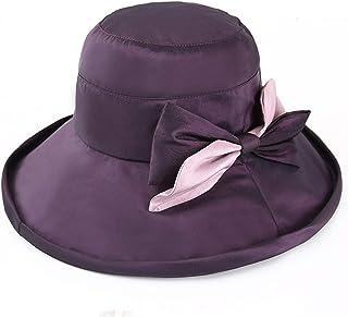 Sombreros para El Sol Visera Tapa del Lavabo Frío Verano Femenino Versión Coreana del De Protección UV para El Sol De Compras (Color : Purple, Size : 57cm)