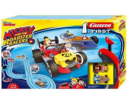 Carrera- First Mickey and the Roadster Racers 2.9m 20063030 Circuito de Coches - a partir de 3 años