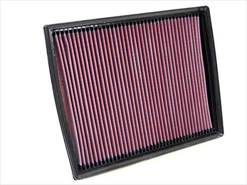 K&N 33-2787 Filtre à Air du Moteur: Haute Performance, Premium, Lavable, Filtre de Remplacement, Plus de Pouvoir, 1998-2013 (Zafira, Astra, Speedster, Astra MK5, VX220, TAXI TX4)