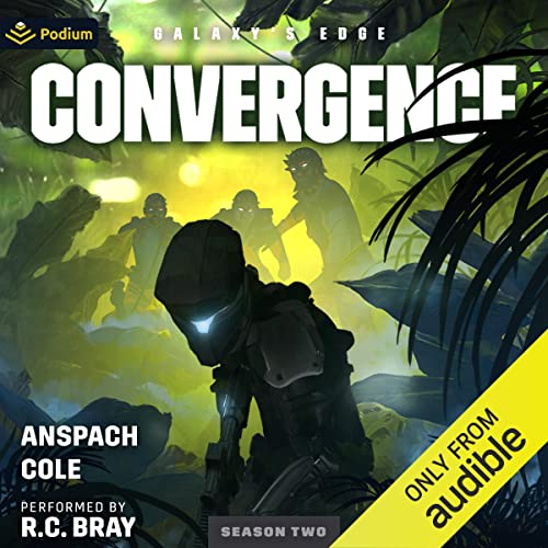 Convergence Audiobook By Jason Anspach, Nick Cole cover art