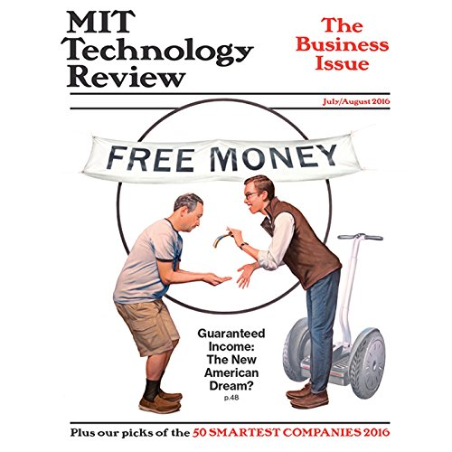 MIT Technology Review, July 2016 audiobook cover art