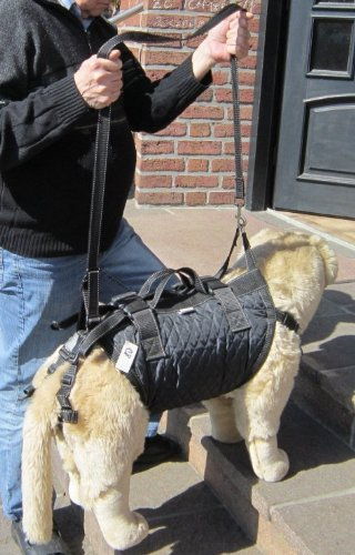 Tiffys-Tasche Größe 4, 49cm - 54cm Brustumfang. Gehhilfe / Tragehilfe - das Original - 1000fach bewährt - Made in Germany. Hoher Tragekomfort durch Polstermaterialien und gleichzeitig perfekter Halt und Sicherheit durch das patentierte Gurtsystem.