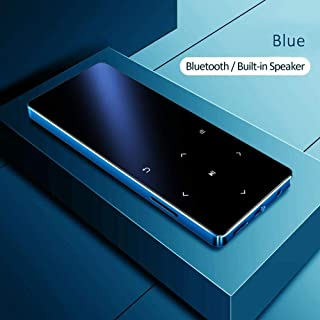 MP4 Player with Bluetooth 8GB 4GB Music Player with Touch Key Fm Radio Video Play E-Book HiFi Players MP3 Walkman (8GB wit...