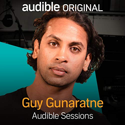 Guy Gunaratne audiobook cover art