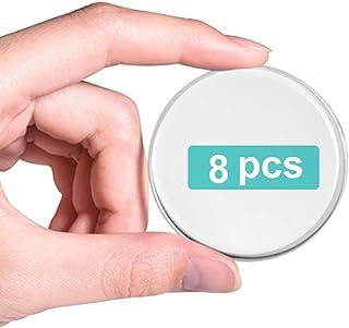 Gel Deurstoppers Muurbeschermer, Deurbuffer, Herbruikbaar Nieuw Materiaal (8 Stks 2 inch), Zelfklevende Transparante Deurs...