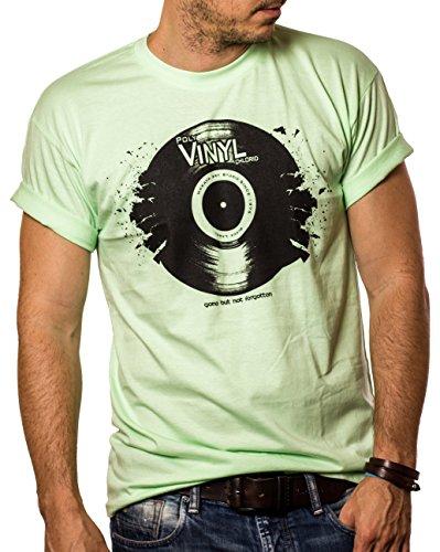 Camisetas Musica Hombre - Vintage Vinyl DJ