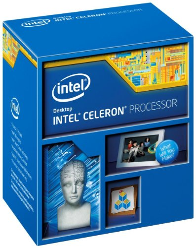 Intel Celeron G1840 Dual Core CPU (2.80GHz, 2MB Cache, 53W, Graphics, Virtualization Technology, Socket 1150)