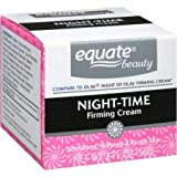 PACK OF 4 - Equate Firming Night Cream Face Moisturizer , 2 Oz