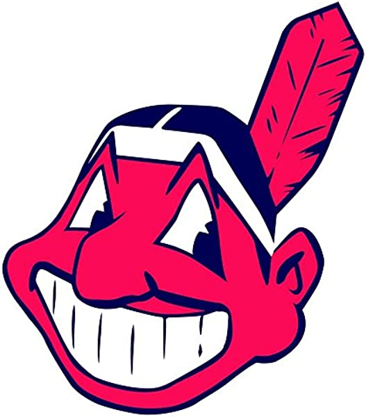 Skyhighprint Cleveland Indians MLB Baseball Sport Decor Vinyl Print Sticker 12 X 13