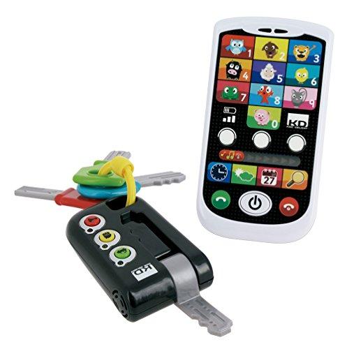 Kidz Delight Kit movil y llaves para niños (Cefa Toys 00429)