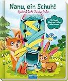 Trötsch Nanu, ein Schuh Schnürsenkelbuch, Übungsbuch