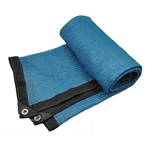 Filet d'ombrage NAN Protection Solaire Durable renforcée, verrière d'écran de Sun d'ombre de Voile - Bleu Voiles d'ombrage (Taille : 4 * 4m)