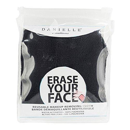 Réutilisable Maquillage Enlève Tissu - Efface Your Face - Noir