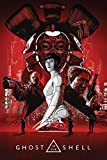 Ghost In The Shell - Red - Filmposter Kino Movie TV-Serie -