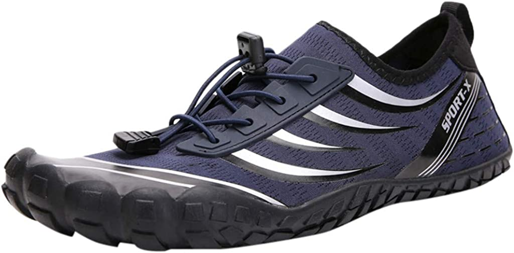 Pzhhzpingg Water Shoes for Women and Men Lightweight Quick Drying Aqua Socks Athletic Sport Shoes Beach Sneakers Creek Shoes