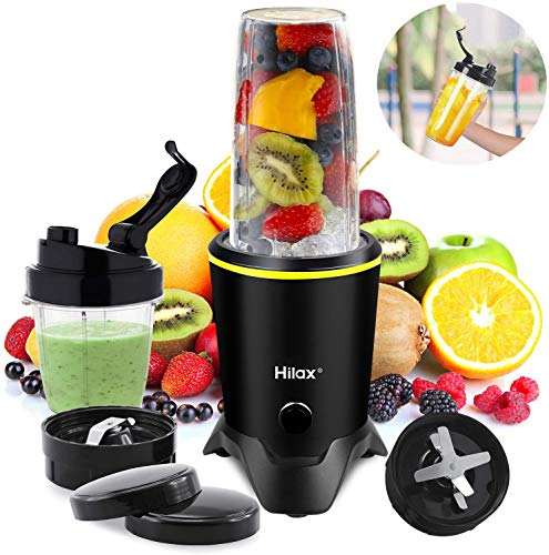 Blenders for Making Smoothies Shakes - 1000W High-Speed Professional Personal Blender,Fruit Juice Mixer High Speed Blender, 2-Set Blades,35oz and 14oz Portable Travel Blender Bottles,BPA Free