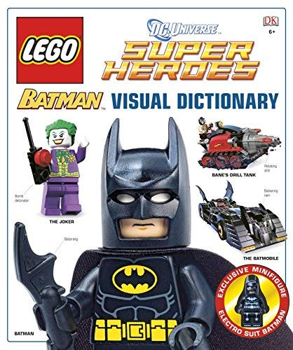 LEGO Batman: Visual Dictionary (LEGO DC Universe Super Heroes) by Lipkowitz, Daniel (2012) Hardcover