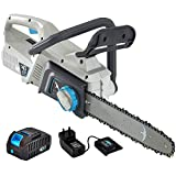 swift 40V Cordless Chainsaw with Battery & Charger, Lightweight Chain Saw with 30cm Guide Bar
