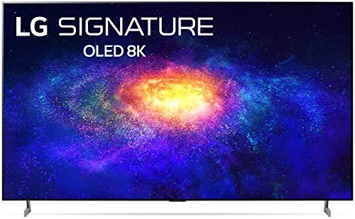 "LG SIGNATURE OLED77ZXPUA Alexa Built-In ZX 77"" 8K Smart OLED TV (2020)"