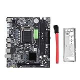 Diyeeni Computer Motherboard,P55 Desktop Computer Motherboard LGA 1156 2 DDR3 USB2.0 SATA2.0 Mainboard for Intel P55/P57/PM55, etc
