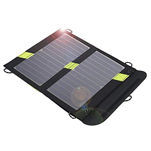 Solar Charger, X-DRAGON 14W Dual USB SunPower Solar Panel Charger with SolarIQ Technology for iPhone, ipad mini, iPod, Samsung, Android Smartphones and More Other Devices