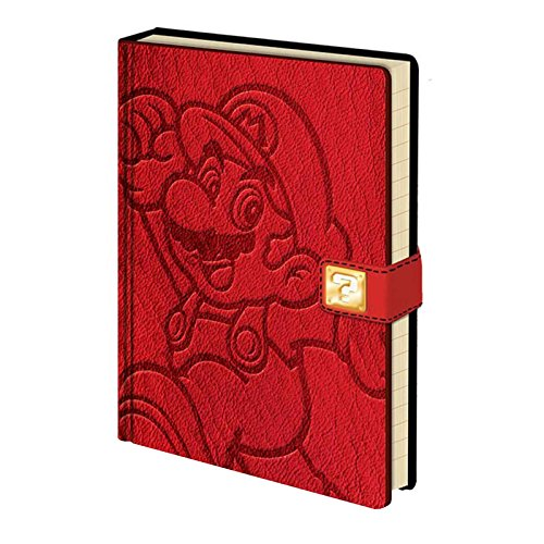 Super Mario Jump Premium A5 Notebook