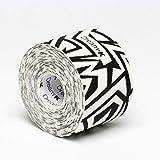 Tape de Sixtus Italia–Dream K Tribe 5cm x 5m–Color Blanco y Negro–El Deporte Tape con efecto Kinesio–más rápido y cómodo Tape Vendaje