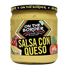Medium heat queso with a creamy texture and a satisfying flavor Diced jalapenos, green chiles, and tomatoes for just the right kick Gluten-free and vegetarian Free of added sugar and artificial flavors A perfect pairing with On The Border Tortilla Ch...