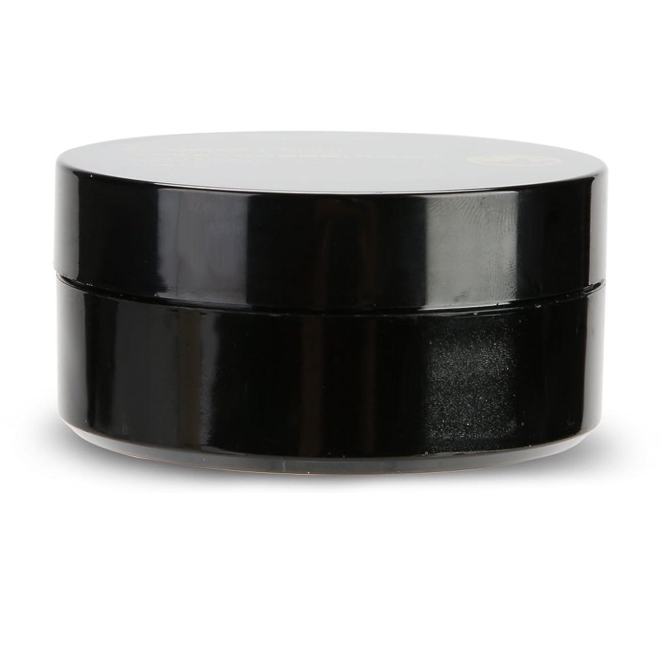 サンダー震える半円60pcsブラックパールエナジャイジングコラーゲンアイマスク、アンチエイジング、しわを解消ブラックアイと余分な脂肪、アイバッグトリートメント、高保湿