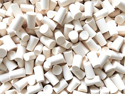 slkfactory 15St. Spitzkorken 19mm (⌀ = 17-21.5mm/Länge = 33mm) aus PE Korken Stopfen für Flaschen (15 Stück)