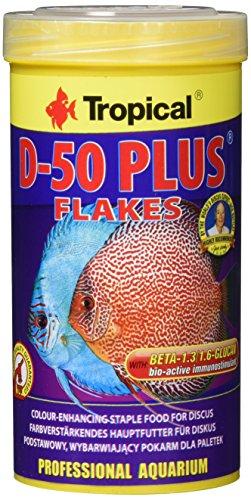 Tropical D-50 Plus Flockenfutter, 1er Pack (1 x 250 ml)