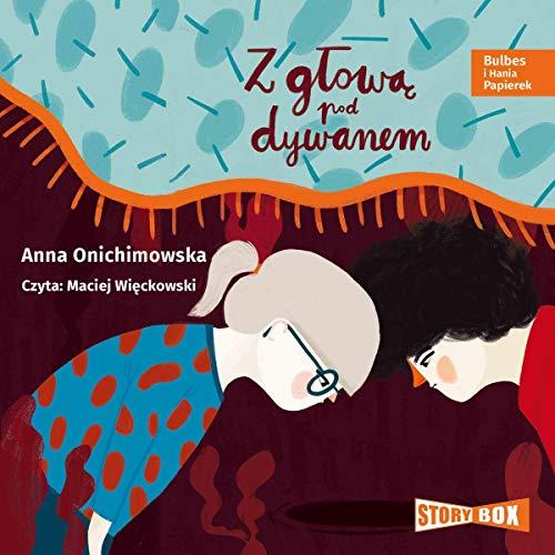 Z głową pod dywanem audiobook cover art