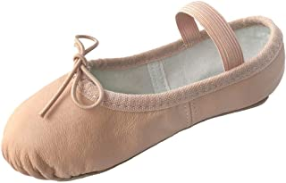 Dancina Leather Ballet Shoes for Girls and Toddlers