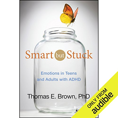 Smart but Stuck audiobook cover art