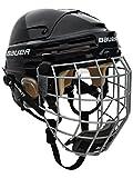 Bauer 4500 Senior Combo - Casco de hockey sobre hielo con rejilla de protección negro negro Talla:large