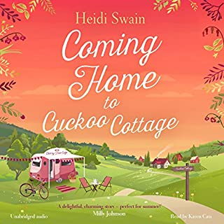 Coming Home to Cuckoo Cottage                   By:                                                                                                                                 Heidi Swain                               Narrated by:                                                                                                                                 Karen Cass                      Length: 11 hrs and 3 mins     100 ratings     Overall 4.6