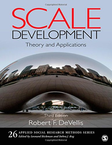 Scale Development: Theory and Applications (Applied...
