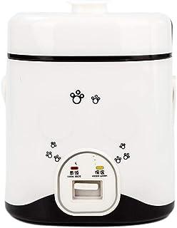 Cocina eléctrica multifuncional 1-2L Fideos Máquina de cocción Olla arrocera eléctrica Almuerzo Estofado Sopa Huevos Vapor Alimentos Lonchera Multifunción Comida automática